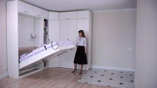 Шкаф кровать-трансформер Эволюция