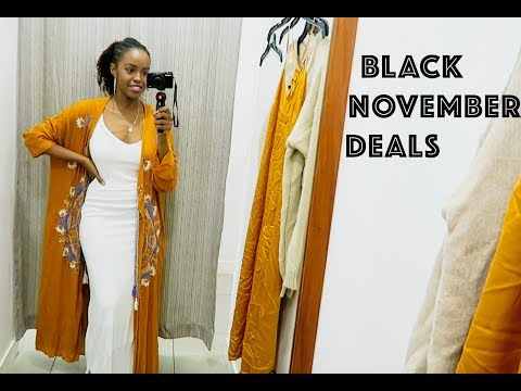EARLY CHRISTMAS SHOPPING - BLACK NOVEMBER | THIS IS ESS