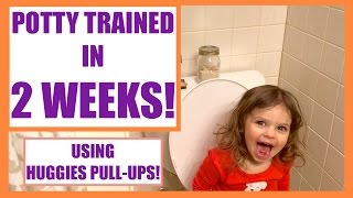 HOW I POTTY TRAINED MY DAUGHTER IN 2 WEEKS! | USING PULL-UPS