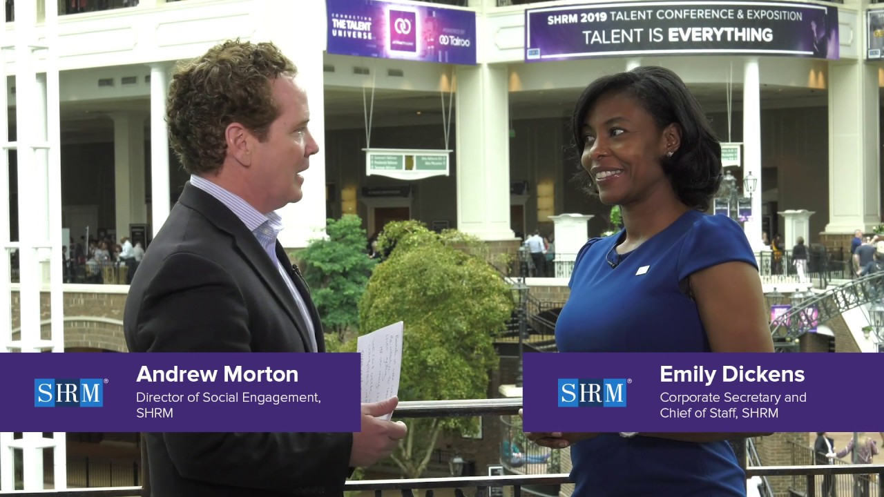 #SHRMTalent with Emily M. Dickens | SHRM