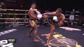 Best of 2016: Regian Eersel Lands a Perfect Head Kick at Lion Fight 29