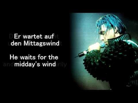 Rammstein - Alter Mann (Offenbach 1997) lyrics and English translation