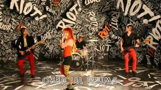 Paramore - Misery Business studio drums track