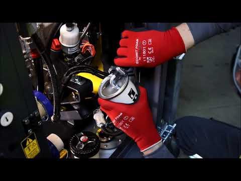 Atlas Copco Service Instruction Video - HiLight B5+ Basic Maintenance