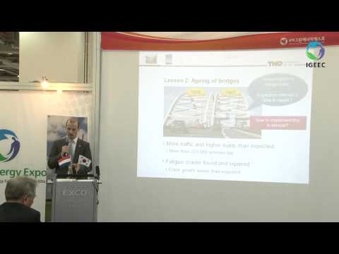 [IGEEC 2014 Video] Dutch Company 'TNO' Conducted a Semina