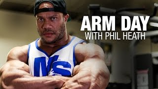 Arm Day with 5X Mr. Olympia Phil Heath + Training Tips