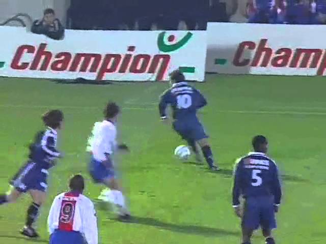 Bordeaux 5 - 3 Paris SG - Match entier  (16-11-1996) Division 1