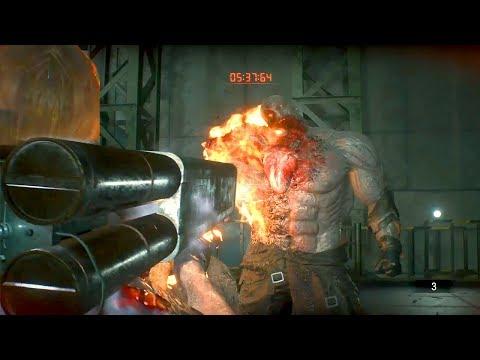 Resident Evil 2 (FINALE) - LANCIARAZZI CONTRO IL BOSS! - (Parte 4)