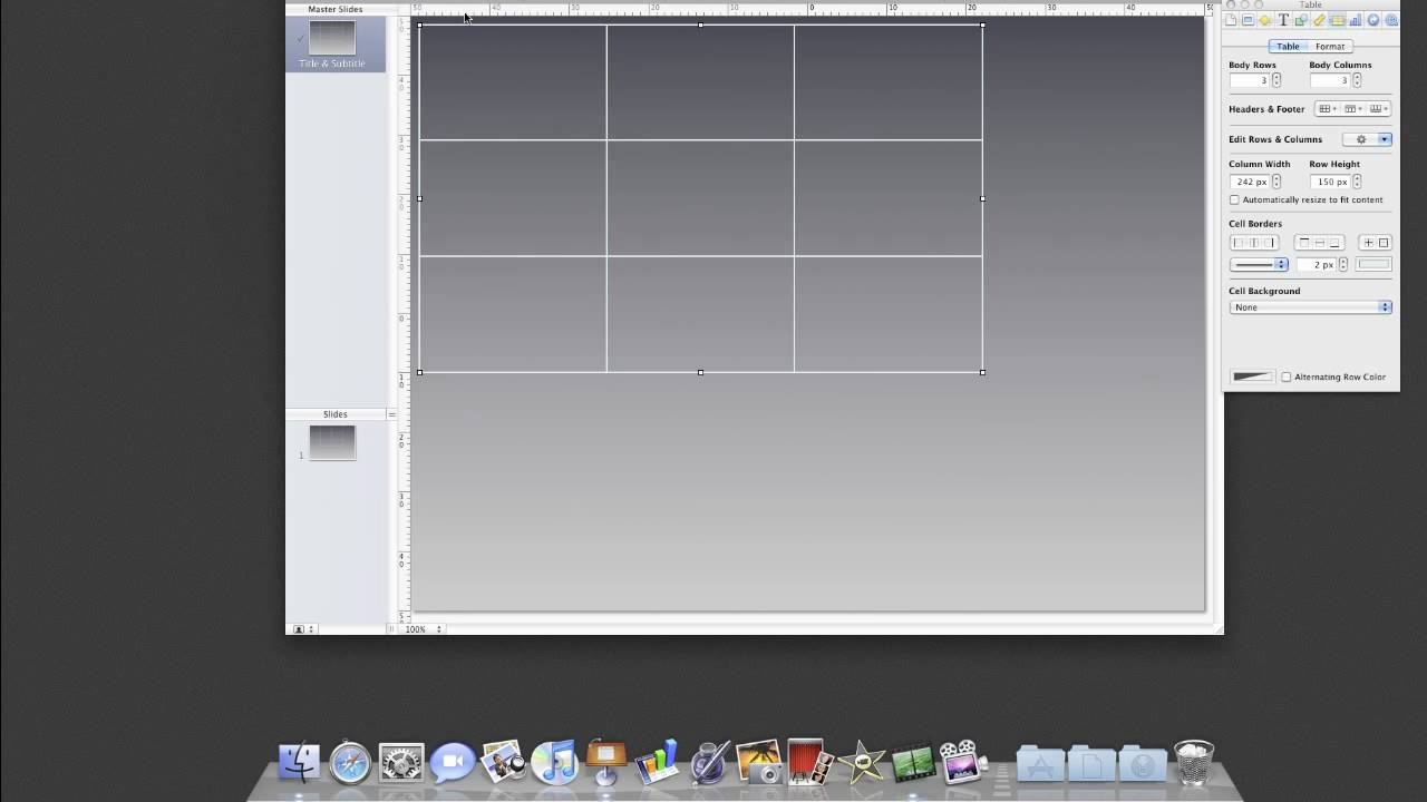 Drawing Lines In Keynote : Creating an apple keynote theme part grids and layouts youtube