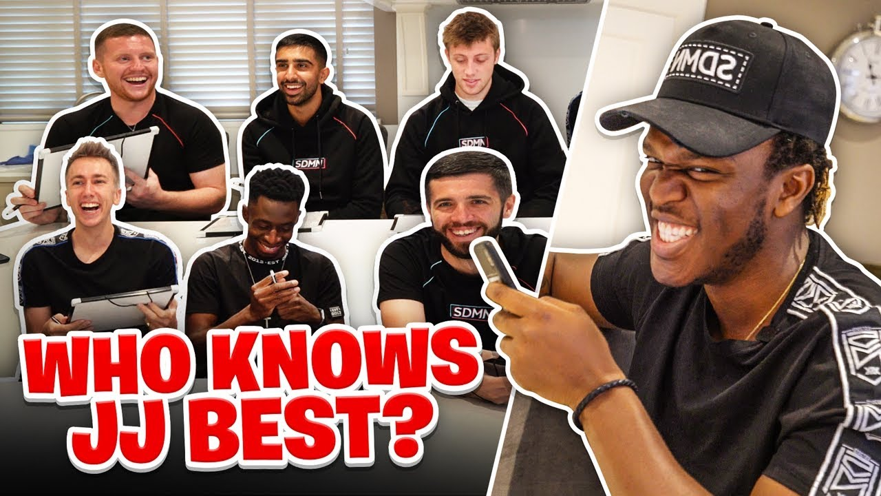 Which of the Sidemen knows JJ the best?