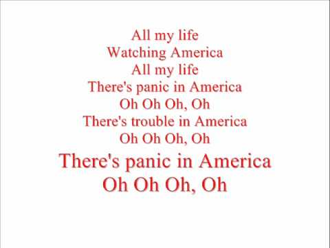 Razorlight America lyrics