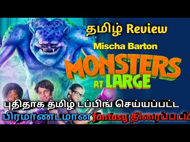Monsters  at Large Movie Tamil Review,New Tamil dubbed movie