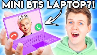 Can You Guess The Price Of These CRAZY AMAZON PRODUCTS?! (BTS MYSTERY BOX!)