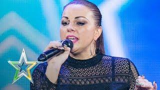 Linda McLoughlin sings Beyonce's Listen   Auditions Week 2   Ireland's Got Talent 2018