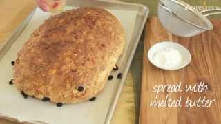 Stollen (christmas Fruit Bread)