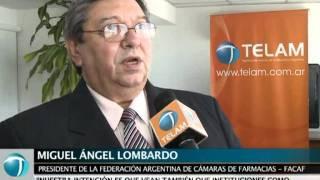 Telam firma convenio con la Federación de Cámaras de Farmacias