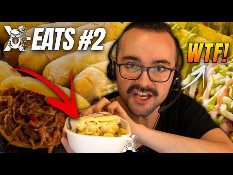 TREMENDA AREPA ME MOJA ENTERO 🥵 | XOKAS EATS #2
