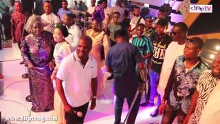 ABASS AKANDE OBESERE SINGS 39TOSIBE OBTK39  FOR  EBENEZER OBEY  75