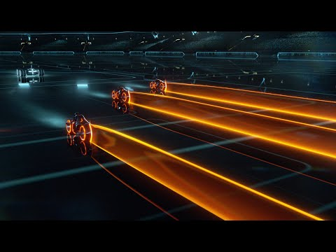 Daft Punk - Fall (Dj DLG Lazor TRON: Legacy Music Video Remix)[Full 1080 HD]