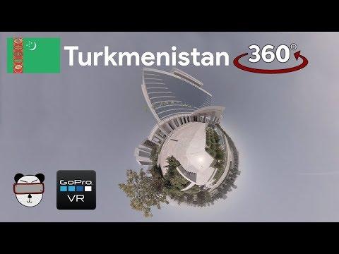 🌍360° GoPro Omni VR: Oguzkent Hotel | Ashgabat, Turkmenistan 🇹🇲