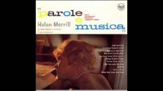 "Helen Merrill - ""Night And Day (Cole Porter)"" ヘレン・メリル/夜も昼も"