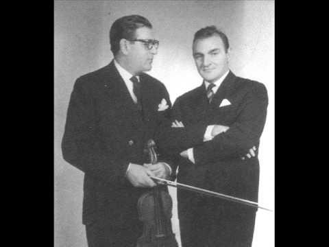 Stefan&Valentin Gheorghiu -  Beethoven:  Sonata for Violin Piano  no 2 II mvt