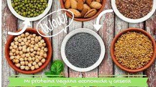 Prepara tu propia proteína vegetal en casa y aumenta masa muscular
