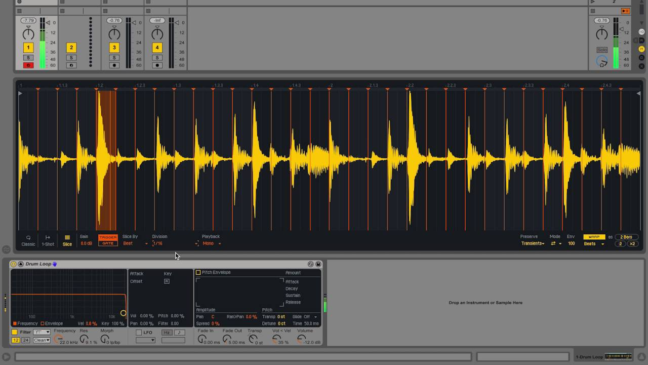 How to sample/edit audio in ableton live | mmmmaven.