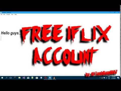 Free Login To Iflix Account Free Hd Movies Techbond007 Youtube