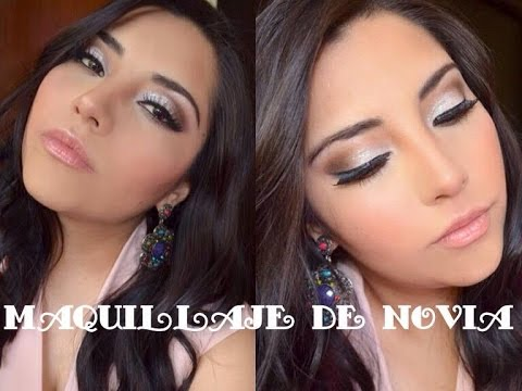43f6a176e Maquillaje de novia para día y noche / Wedding makeup - YouTube