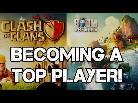 Becoming A TOP PLAYER In Clash Of Clans AND Boom Beach! Cheating? Boosting? Pay-2-Win?
