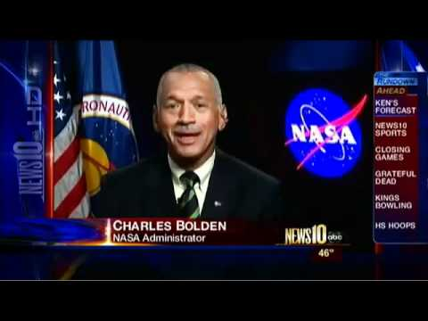 NASA ADMINISTRATOR CHARLES BOLDEN SAYS UFO'S & ALIENS ARE REAL (MARCH 2011)