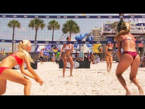 Best of Beach Volleyball Girls | Women's Open | Clearwater Beach, FL