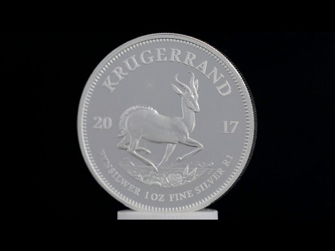 2017 Krugerrand (SA Mint) proof silver coin
