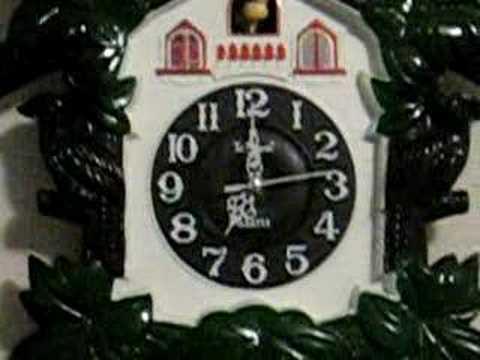 Telesonic Musical Cuckoo Wall Clock Youtube
