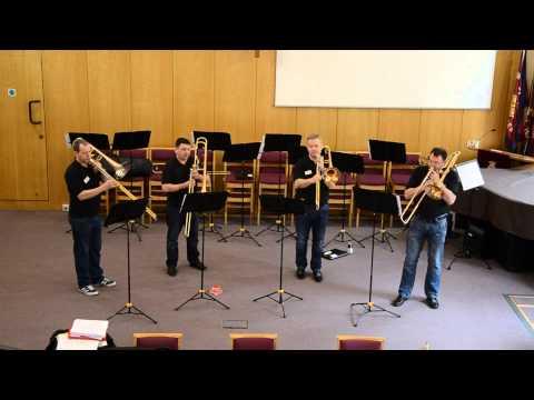 Black Dyke Trombone Quartet - Celebration
