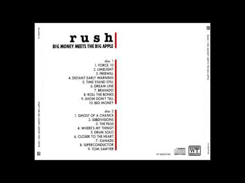 Rush - Big Money Meets The Big Apple
