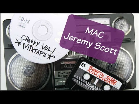 MAC x JEREMY SCOTT Collection: Live Swatches & Review