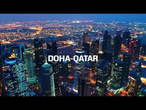 Doha drone shot