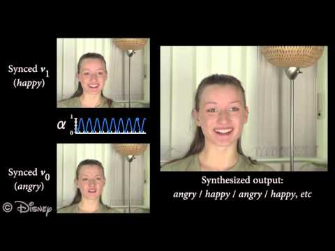 FaceDirector: Continuous Control of Facial Performance in Video