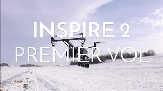 IS2 : Premier vol du DJI inspire 2 ! 18 min et 33 secondes d