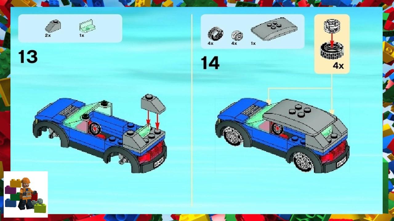 Garage 7642 lego city traffic building instructions lego. Com.