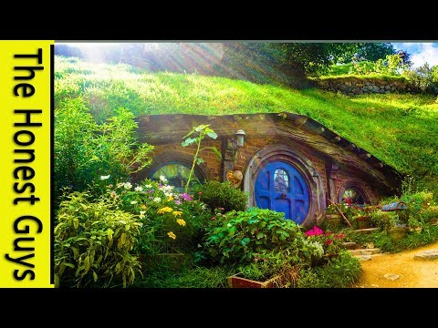 🎧Guided Sleep Meditation: Village in the Shire (LOTR) with ASMR