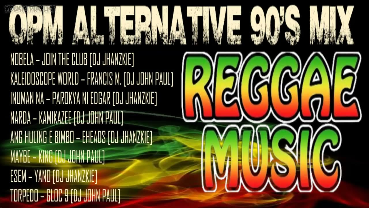 Download MIX Reggae Music 2021    OPM Songs MIX 90's Reggae Compilation    Vol. 34