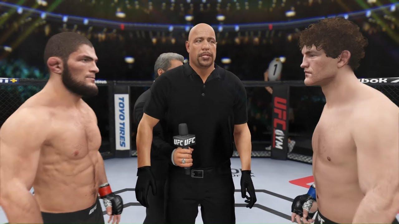 UFC 4 - Khabib vs. Ben Askren - Eagle Fights 🦅 - YouTube