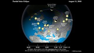 Partial Solar Eclipse on August 11, 2018