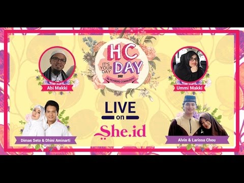 "Hijabers Community Day : ""HC Past, Present, and Future"""