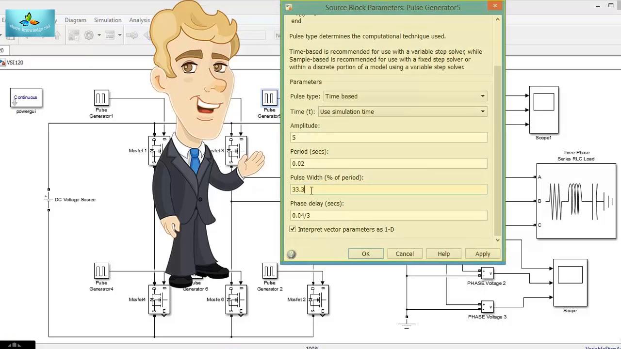 voltage source inverter 3 phase 120 degree