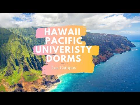 Dorms at Hawaii Pacific University