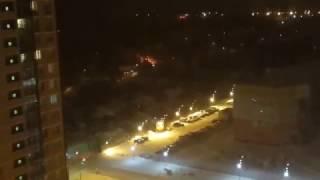 В Екатеринбурге горит частный дом